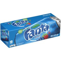 Fanta Berry Soda Fridge Pack Cans, 12 fl oz, 12 Pack - Walmart.com