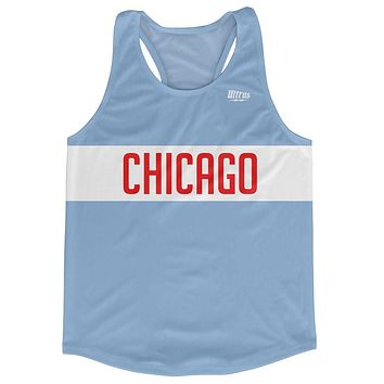 Chicago City Finish Line Running Tank Top Racerback Track and Cross Country Singlet Jersey