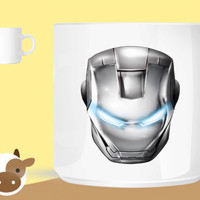 ironman mask unique coffee mug