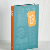 Travel Memoir Montage Travel Stub Diary by Chronicle Books from ModCloth
