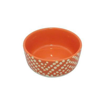 Threshold Bowls Threshold Red Solid With White Polka Dots