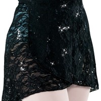 Short Ballet Lace Wrap Skirt | Capezio