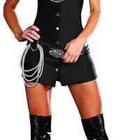 Rhinestone Cawgirl Costume - Women Halloween Costume - Sexy Costumes for Woman - Oya Costumes