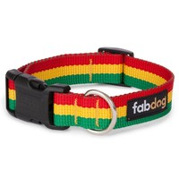 RASTA COLLAR by Fabdog at Baysidebuddy.com