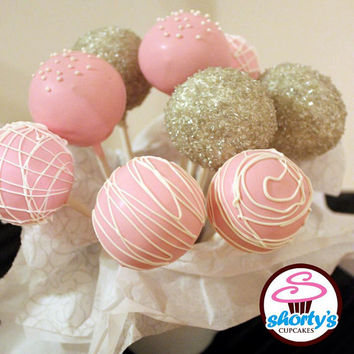 Wedding Themed Gourmet Cake Pops