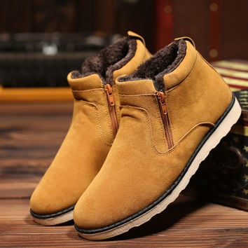 Winter Fashion Men Cotton Boots [9462348295]