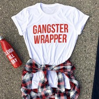gangster wrapper tee