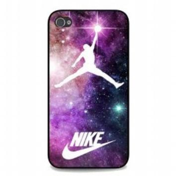 Jordan Nebula Galaxy Nike for iphone 4 and 4s case