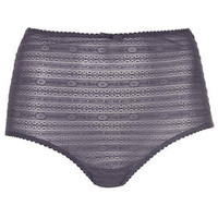 High-Waisted Knickers - Navy Blue