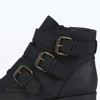 Aimee Buckled Ankle Boot
