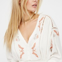 Free People You Give Me Butterflies Dress