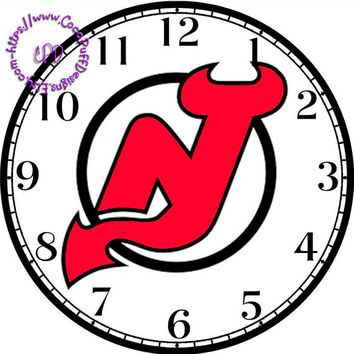 """New York Sports Team Art - -DIY Digital Collage - 12.5"""" DIA for 12"""" Clock Face Art - Crafts Projects"""