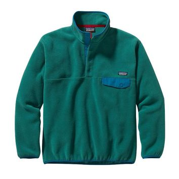 Patagonia Men's Synchilla® Snap-T® Fleece Pullover | Arbor Green