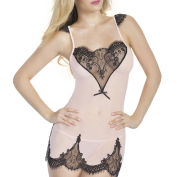 Heart of Lace Babydoll and G-String