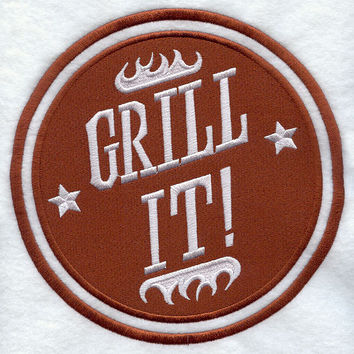 Grill It Embroidered BBQ Apron Father's Day Gift, Birthday Gift, Host Gift