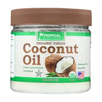 Tropical Plantation Organic Coconut Oil - Case Of 1 - 24 Fl Oz.