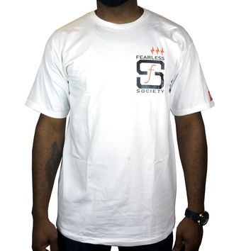 SF Native Tee in white