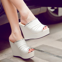 Rhinestone-Women-Wedges-Platform-Slipper-Shoes 1692