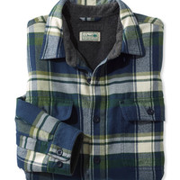 Men's Fleece-Lined Flannel Shirt, Traditional Fit | Free Shipping at L.L.Bean