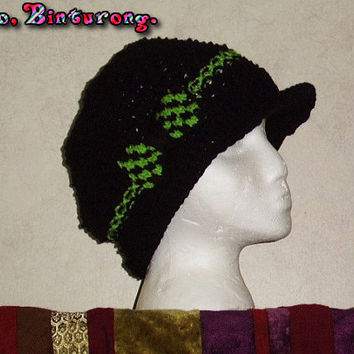Checkerboard Bow Hat