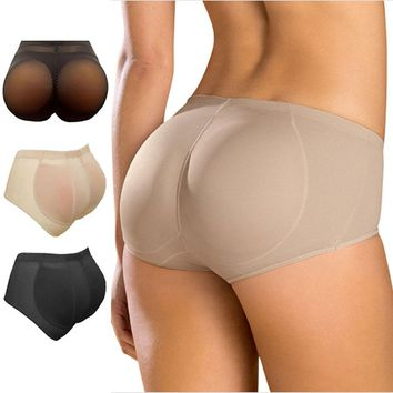 Awesome Booty Hip up Silicone Buttocks Pads Butt Enhancer body Shaper Panty Tummy Control GD