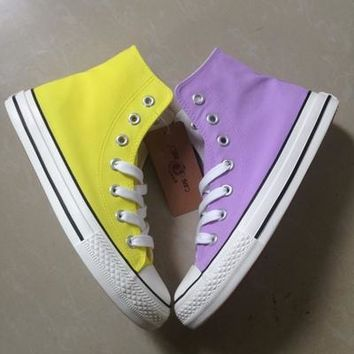 Summer Women Shoes Doodle  Lace-Up Hand Painted Canvas Shoes Fashion Girls