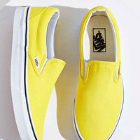 Vans Classic Slip-On Sneaker- Yellow W