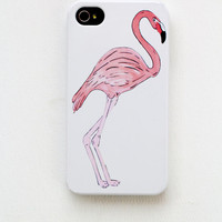 Iphone 4/4S/5 hard case - Pink Flamingo