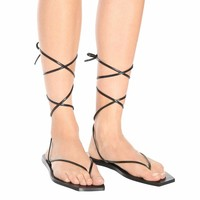 Tangle II leather sandals