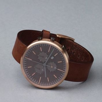 Uniform Wares 302 Rose Gold & Walnut