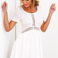 Sun Dancer Dress White