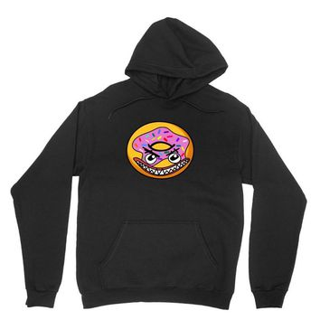 Angry Donut Unisex Hoodie