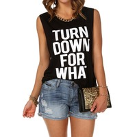 urn Down For What Tank Top
