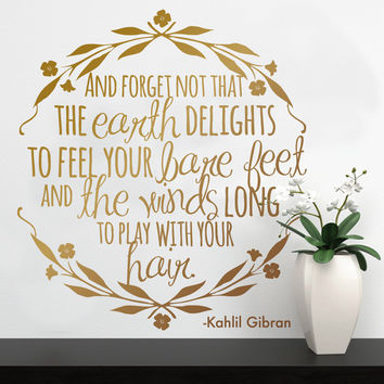 Kahlil Gibran The Prophet Quote