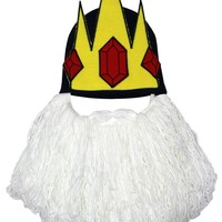 Adventure Time Ice King Beanie With Beard - Buy Online at Grindstore.com