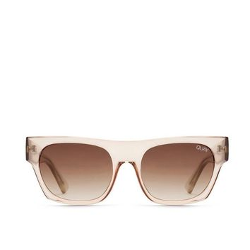quay australia - something extra sunglasses - clear/brown
