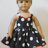18 inch Doll Clothes  fits American Girl - Sun Dress