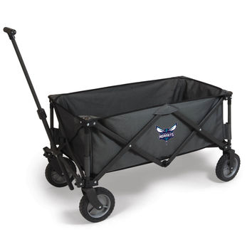 Charlotte Hornets - 'Adventure Wagon' Folding Utility Wagon by Picnic Time (Dark Grey)