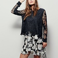 Free People Womens Pretty Rad Pullover