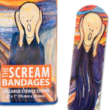 The Scream Bandages