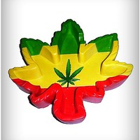 Rasta Leaf Ashtray - Spencer's