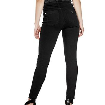 Super High Rise Skinny Jeans at Guess