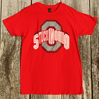 O-H Shirt - Scarlet & Gray