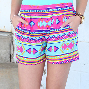 My Tribe Shorts {Pink Mix}