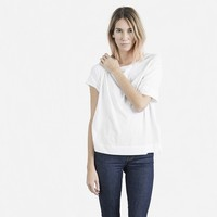 The Cotton Drop-Shoulder Tee