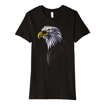 Eagle tribal tattoo nature cute design Premium t-shirt