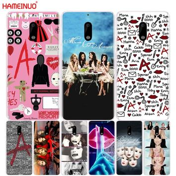 HAMEINUO Pretty Little Liars cover phone case for Nokia 9 8 7 6 5 3  Lumia 630 640 640XL 2018
