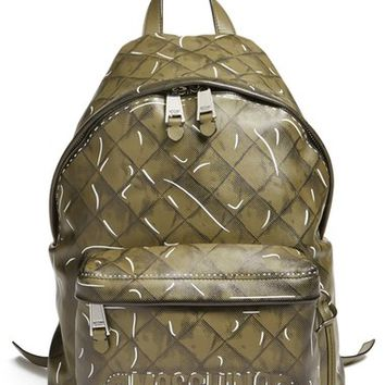 Moschino Trompe l'Oeil Print Backpack | Nordstrom