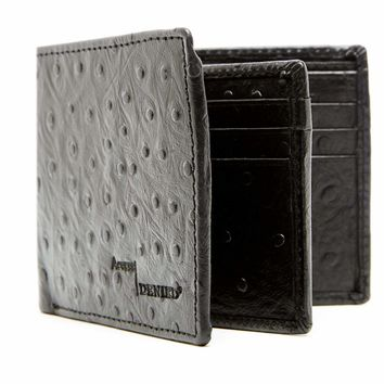 Bifold Wallet With Center Flap ID & Card Slots