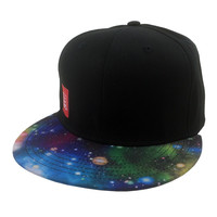 Starman Galaxy Print Hat